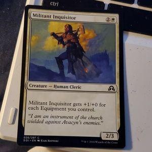 Militant inquisitor magic card